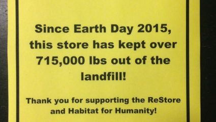 ReStore Earth Day
